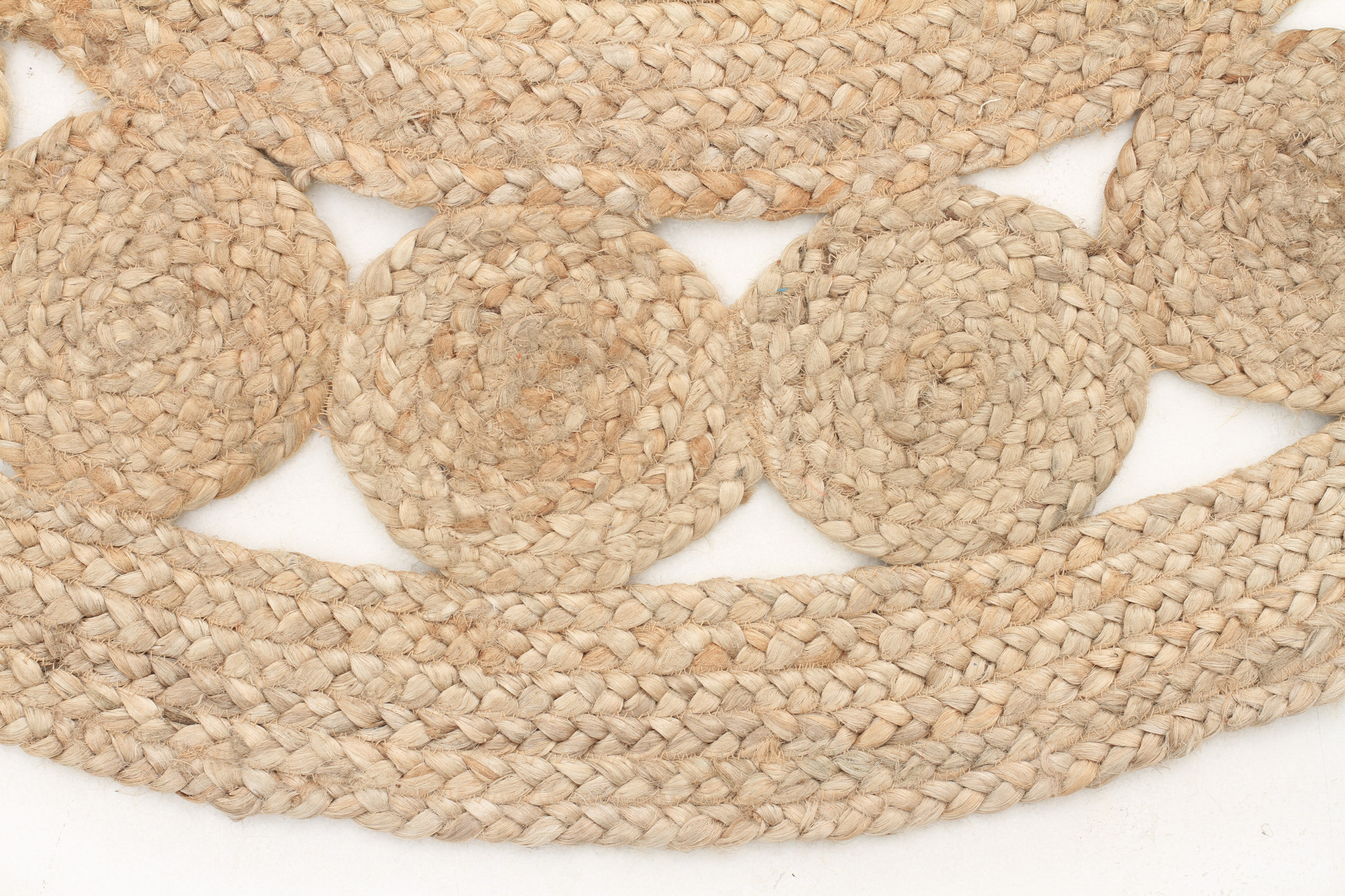 Beautiful Atrium Round Pilu Jute Rug Natural Out Of The Cot