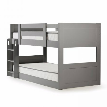 leo low line bunk grey out of the cot