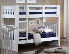 kids white bunk bed – bunk beds adelaide – out of the cot – 5