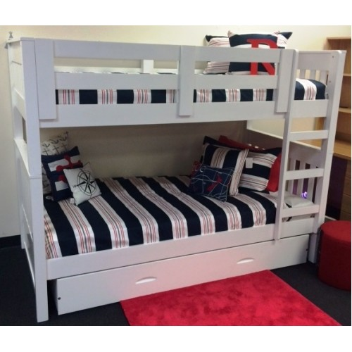 Riley Single Bunk Inc Trundle In Stock Ready To Ship Out Of The Cot