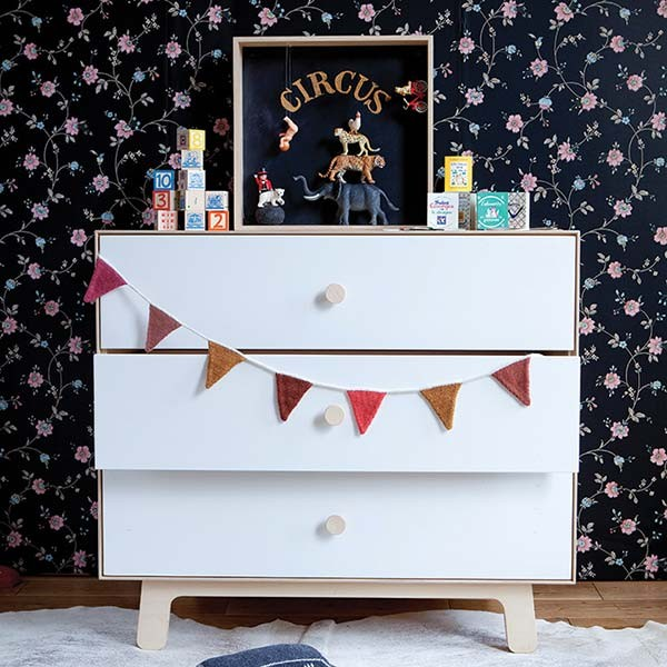 Oeuf Merlin 3 Drawer Dresser Sparrow Out Of The Cot