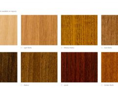 timber-stain-selection