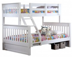 white kids bunk bed – bunk beds adelaide – out of the cot – 2