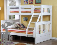 white kids bunk bed – bunk beds adelaide – out of the cot