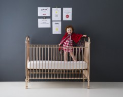 Ellie cot by incy interiors – metal cot – out of the cot – 3