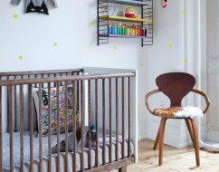 Rhea cot by oeuf – desinger cot adeliade – out of the cot – 7