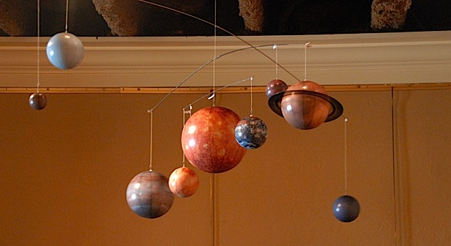 Solar System Mobile Out Of The Cot