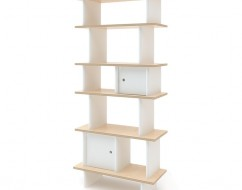 Ouef verticle mini library – kids designer bookshelf – out of the cot – 2