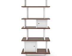 Ouef verticle mini library – kids designer bookshelf – out of the cot – 3