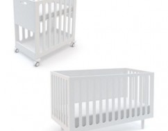 fawn cot bassinet – designer cots adelaide – oeuf – out of the cot
