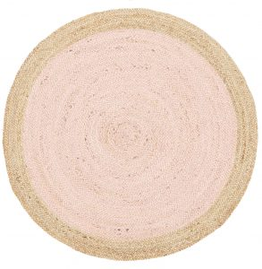 Atrium Round Pilu Jute Rug Natural Out Of The Cot