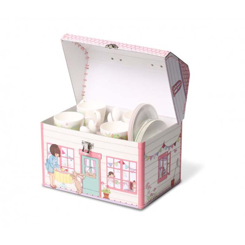 Belle Amp Boo Birthday Surprise Tea Set Out Of The Cot