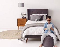 kids upholstered bed australia_kids bed adelaide_out of the cot_100