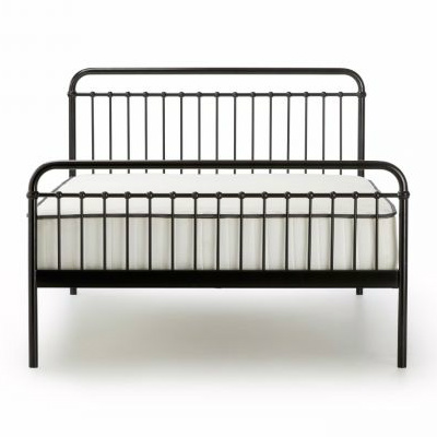 Loft Vintage Black Queen Metal Bed Out Of The Cot