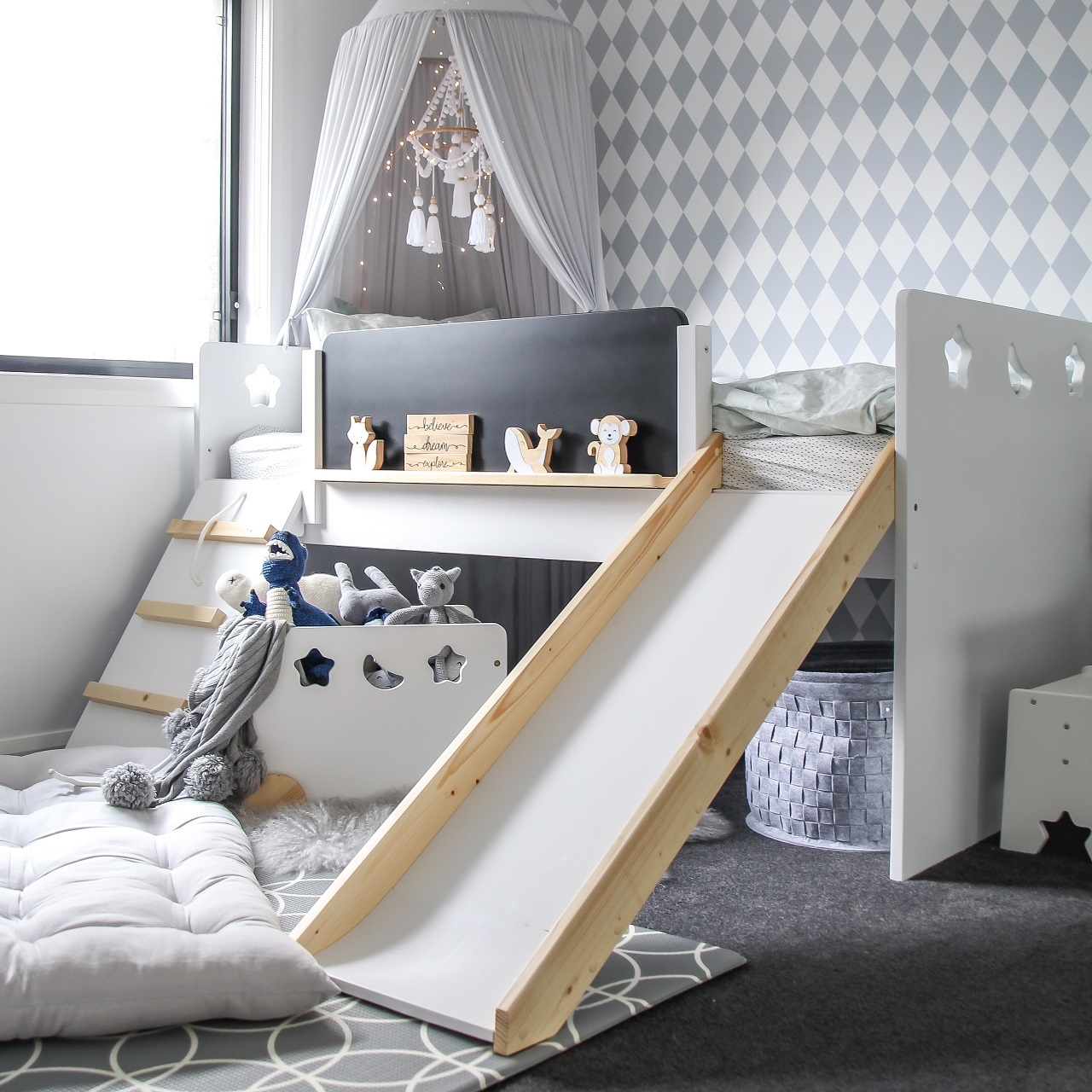 The Galaxy Kids Bed Out Of The Cot