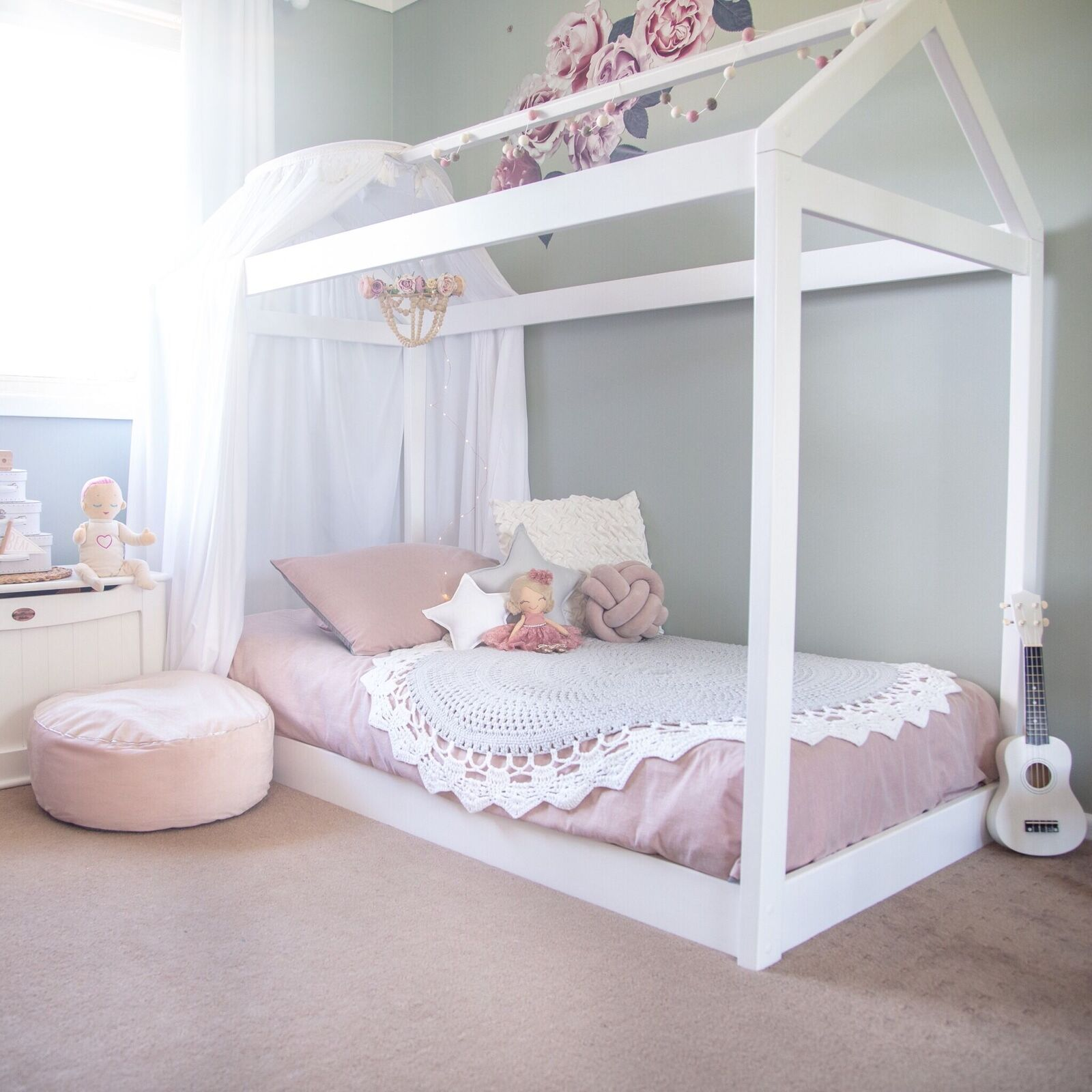 Cubby House Bed - Single - Out Of The Cot