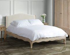 ONTARIO Solid Oak QUEEN Bed-01