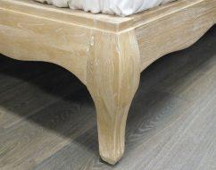 ONTARIO Solid Oak QUEEN Bed-06