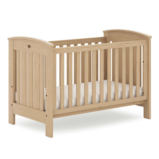 Boori Casa Cot Bed (Dropside) - Almond - Out Of The Cot
